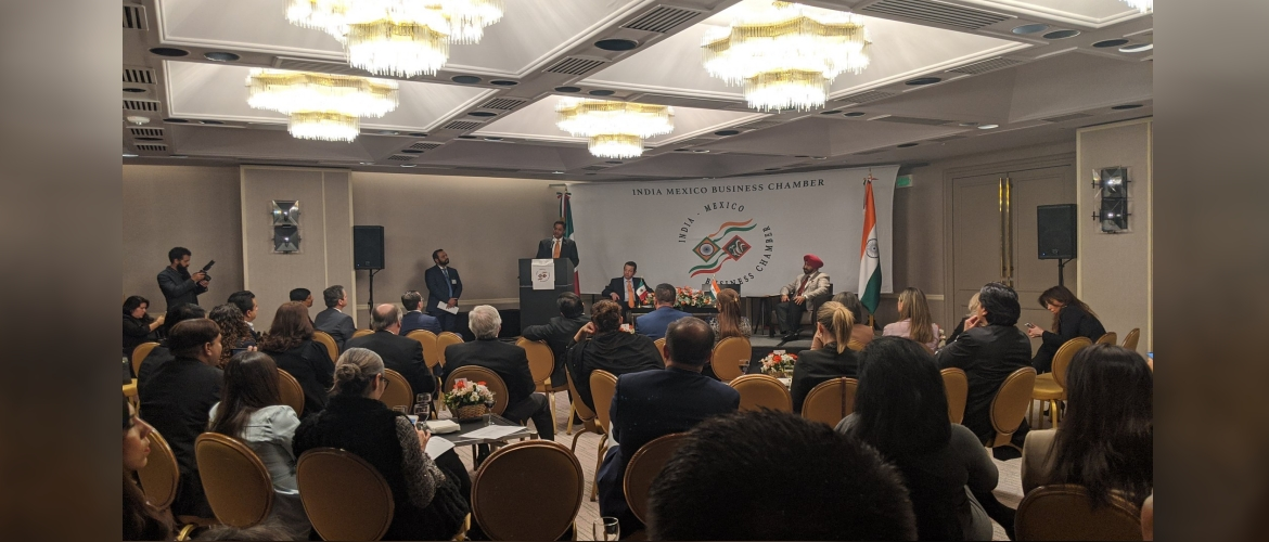India Mexico Business Chamber celebrated networking cocktail session along with signing of various MoUs on 23 Jan, 2020.